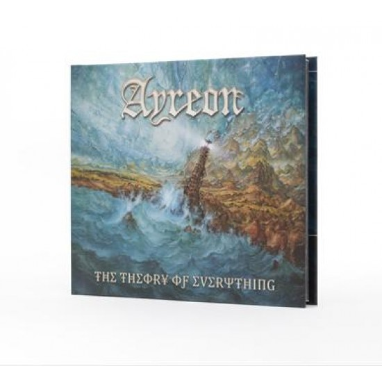 AYREON - THE THEORY OF EVERYTHING (2CD+DVD DIGIBOOK)