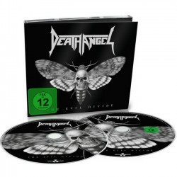 DEATH ANGEL - THE EVIL DIVIDE (CD + DVD DIGIBOOK)