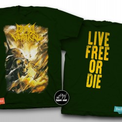 DEAD VERTICAL - LIVE FREE OR DIE (GREEN)