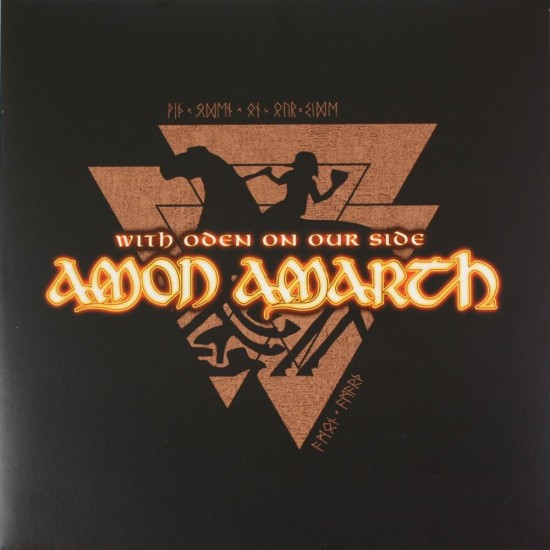 AMON AMARTH - WITH ODEN ON OUR SIDE (BLACK VINYL)